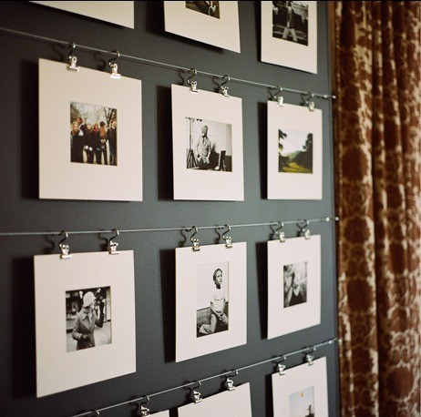 A Good Idea For Hanging Your Photos