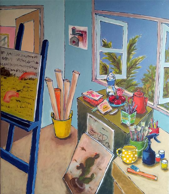 """My Room 3"" 100x120cm (biio) BKK"