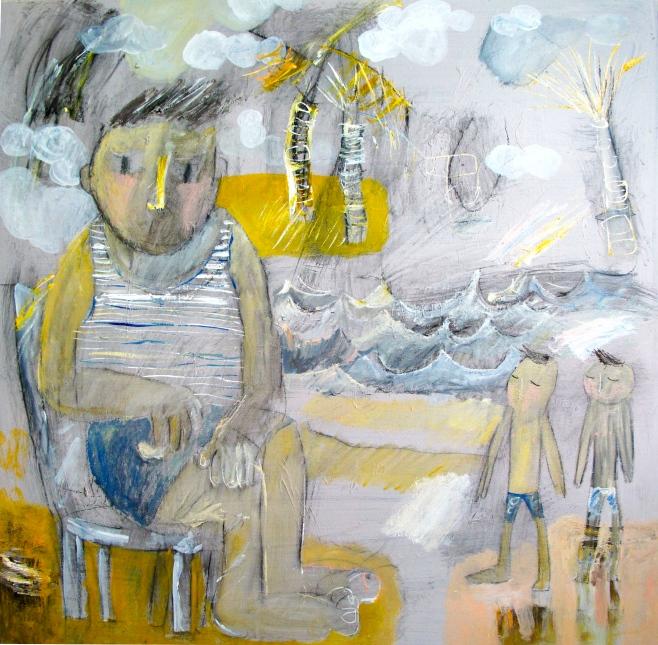 "Kitti Narod ""Dreamer"" 100x100cm (aiio)"
