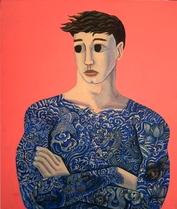 """Boy In a Tattooed Shirt""140x160cm (fiio)"