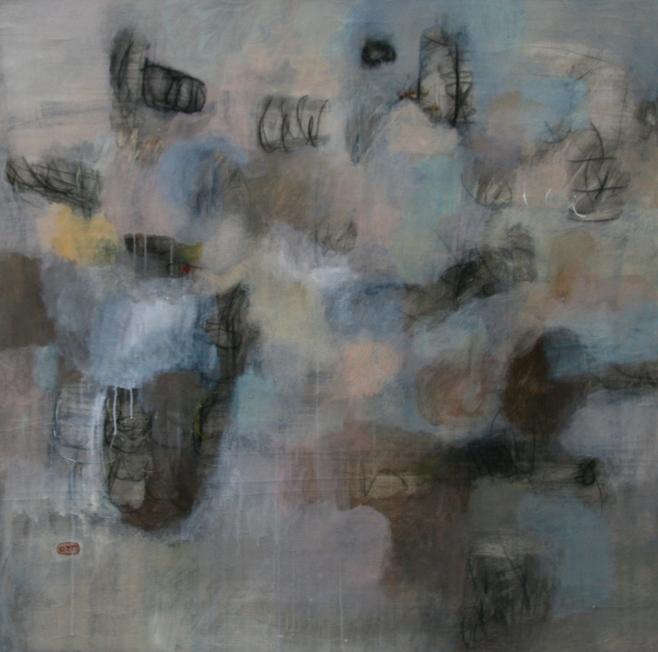 "Kitti Narod ""Rainy Day"" 120x120cm, (beoo)"