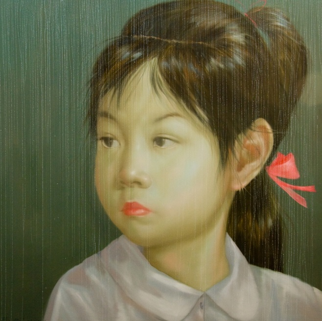 Young Girl by Attasit Pokpong 200x200cm (beooo)