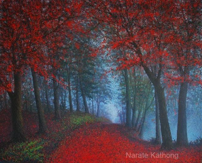 """""""Crimson"""" 150x120cm"""