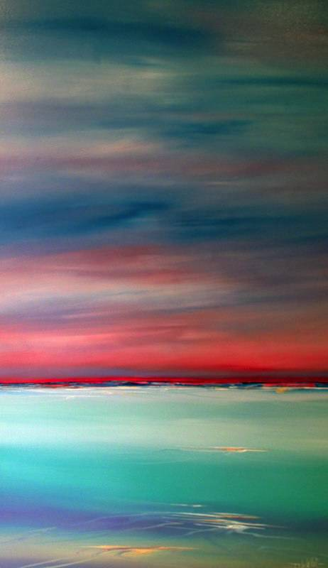 """Cable Beach Sunset"" 50x150cm"