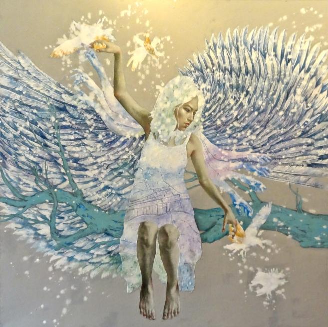 """Angel of Mercy"" 190x195cm BKK"