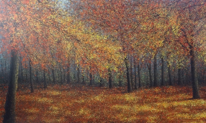"Narate Kathong, ""Autumn"" 200x120cm"
