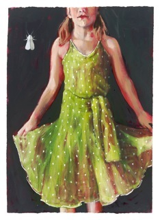 """Girl in the Pistachio Dress"""