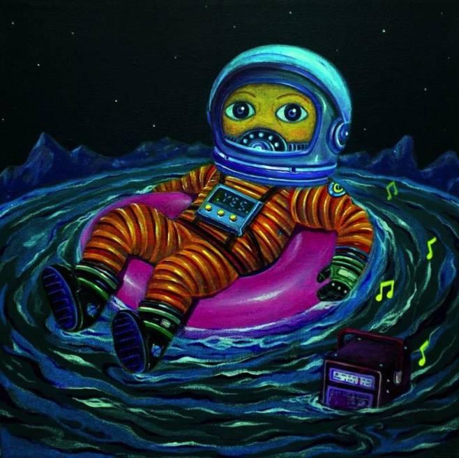 """Spaceman"" 45x45cm New Series (BKK)"