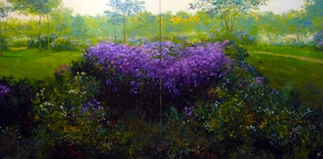 Dusit Pimchangthong, Lilac Copse.