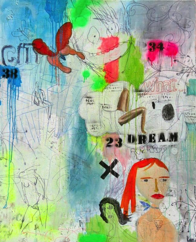 """""""Dream"""" 110x135cm"""