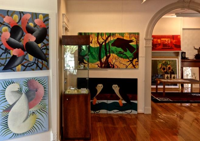 John Graham at Tusk Gallery, Kalorama