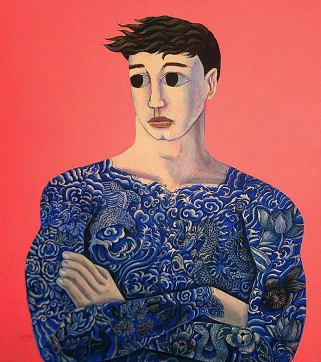 Tattooed Boy 140x160cm
