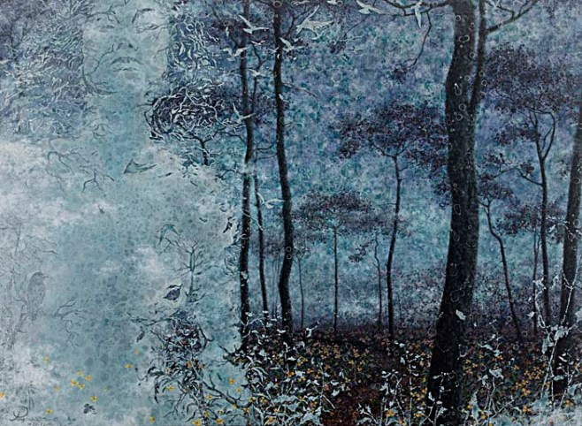 """Ghostly Forest"" 120cm x 90cm (ciio)"