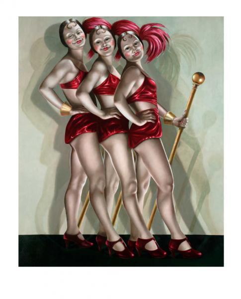 """""""The Roxettes"""" L/E Print, $695"""