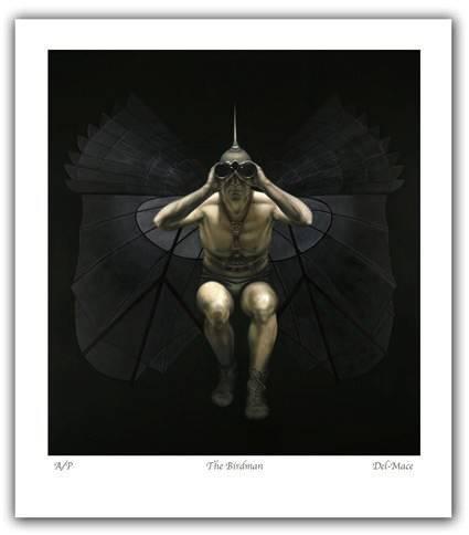 """The Birdman"" 81x89cm"