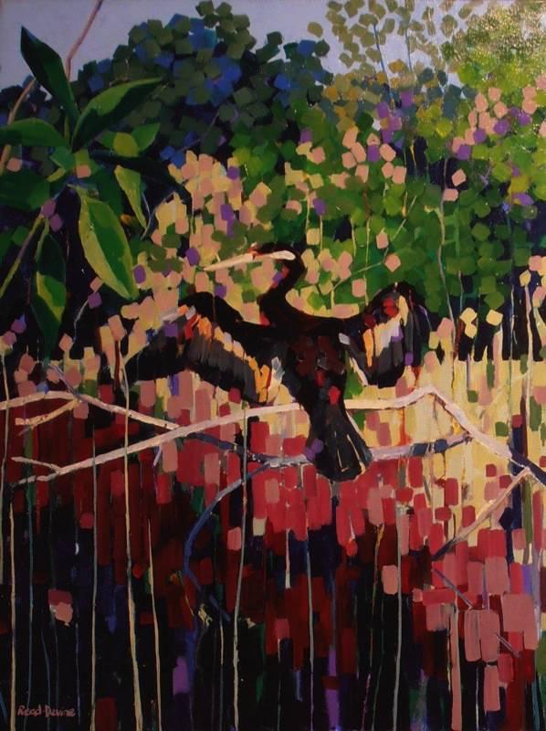 """Waterbird"" Framed 76x102cm"