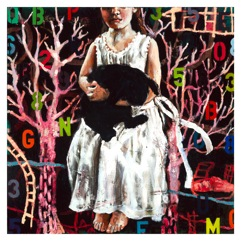 """Wonderland"" 90 x 90cm"