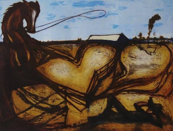 """Stockman's Dream"" Edition of 40, 45x60cm"