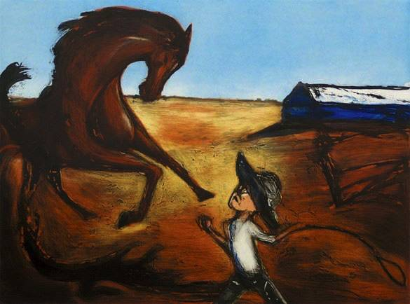 """The Horsebreaker"" Edition of 55, 45x60cm"