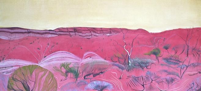 """""""Acacia Ridge"""" 185x100cm"""