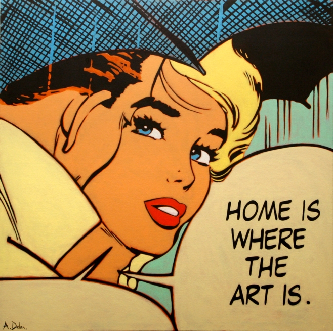 """Home is where the art is"" L/E"