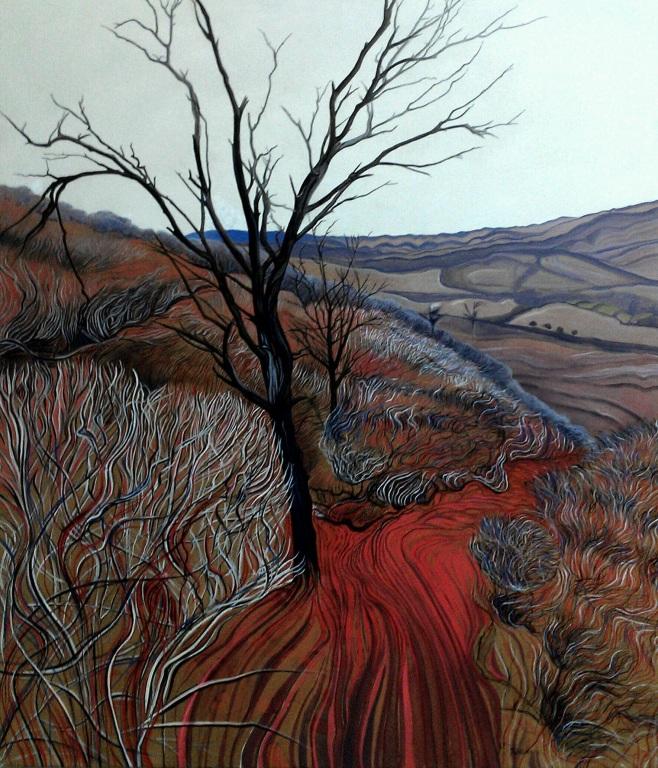 """""""Flinders Landscape"""" 139x113cm"""