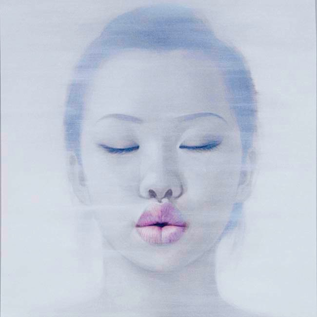 """Lips IV"" Image 70x70cm Paper 87x91cm  Printed on 308gsm Acid Free Archival Rag  $495"