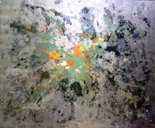 "Pila Pansumrit, ""Illuminations"", 170x140cm"