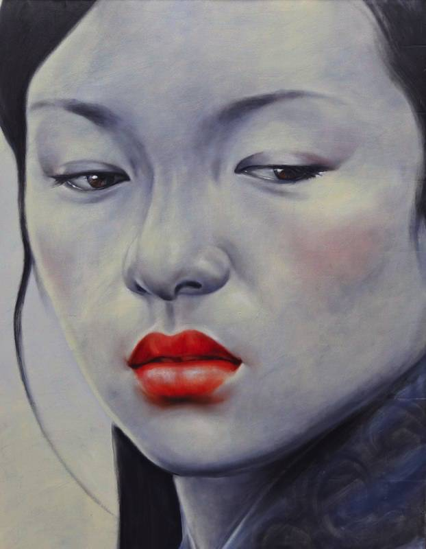 """""""Zhang Ziyi II"""" 100x130cm (biio)"""