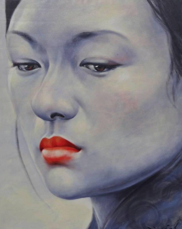 """Zhang Ziyi I"" 100x130cm (biio)"