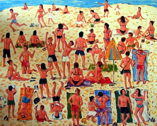 """Beach Scene I"""