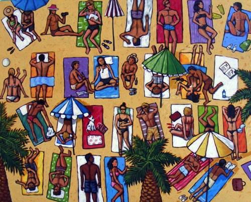 """""""Beach Scene II"""""""