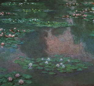 "Claude Monet, ""Water Lillies I"""