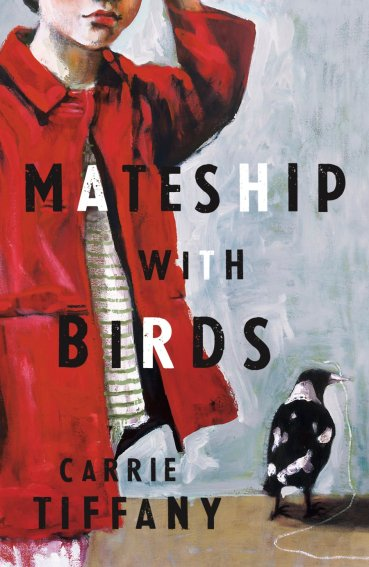 "Sophie's artworks used for the cover of Carrie Tiffany's aptly titled book ""Mateship with Birds""."
