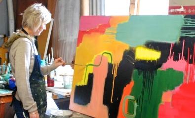 Carolyn O'Neill at work