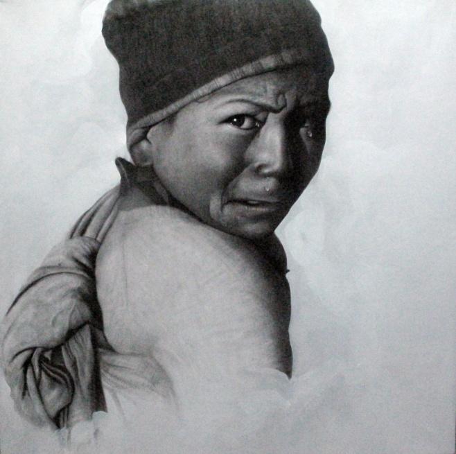 Tears by Anurak 120x120cm $2500