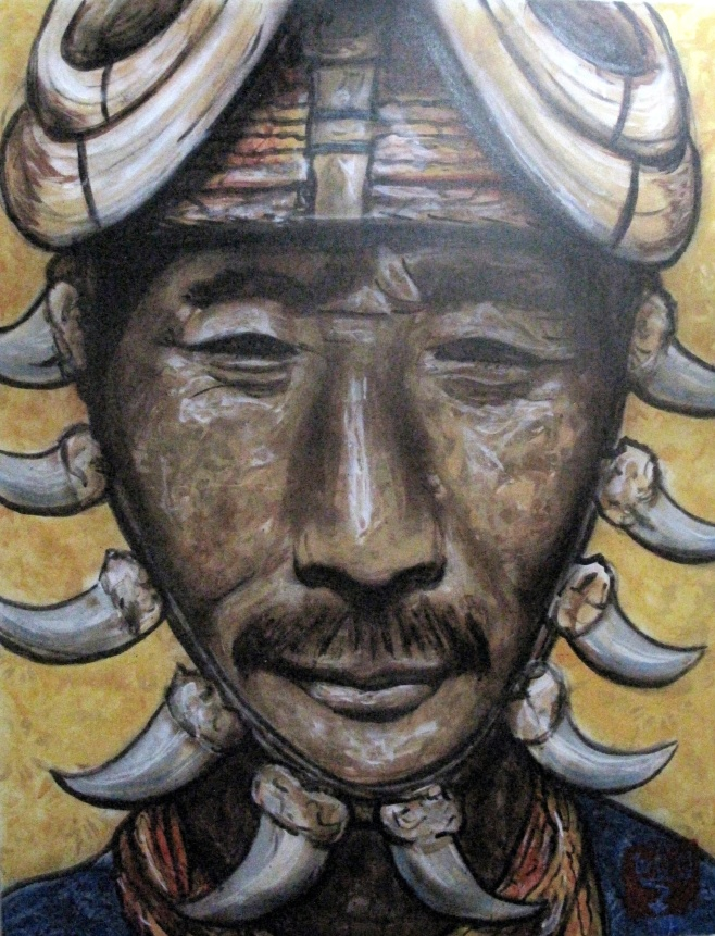 Warrior by Cece Nobre 70x100cm $1690