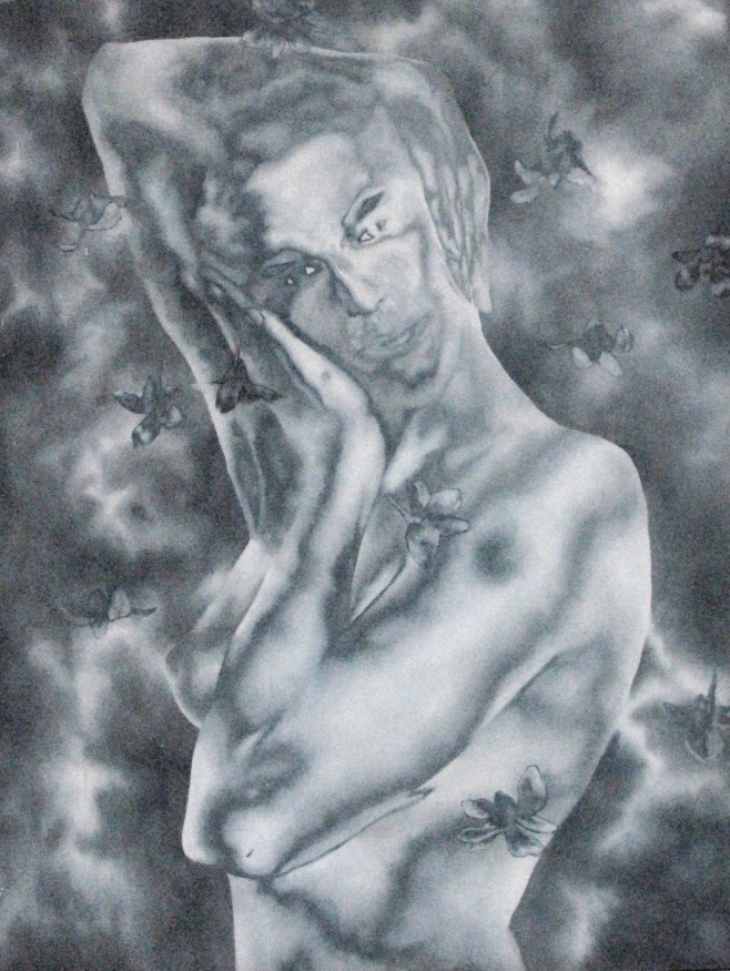 Misty Nude by Witoon Krengnarongdath 70x90cm $990