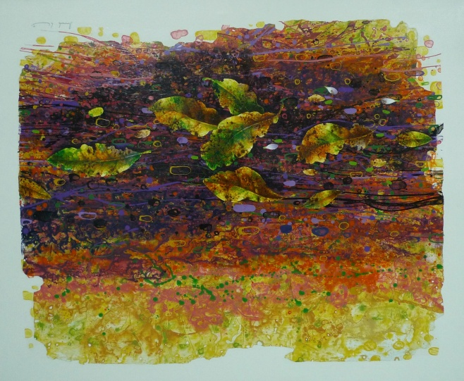 Leaves by Sophon 120x100cm $990