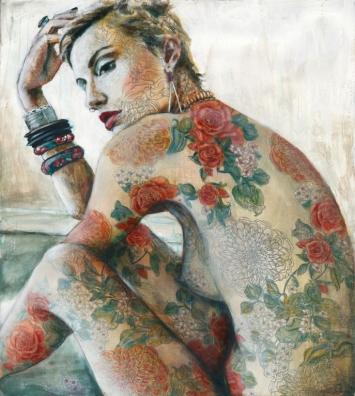 "Tania Wursig ""Amber Rose"" 122x90cm"