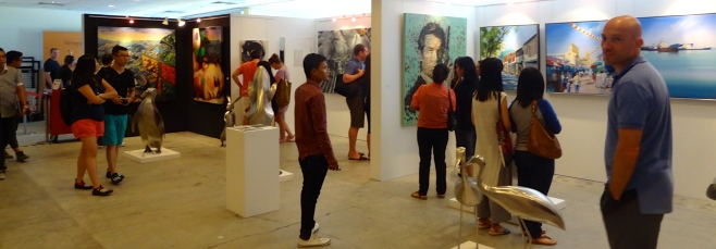 Tusk Gallery : Singapore Affordable Art Fair November 2014 : Proposal