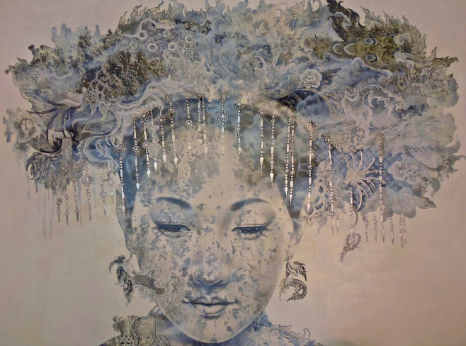 "Vichit Nongnual ""Head Dress"" 200x140cm"