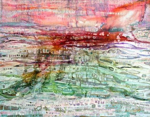 Melting Landscape 150x120cm