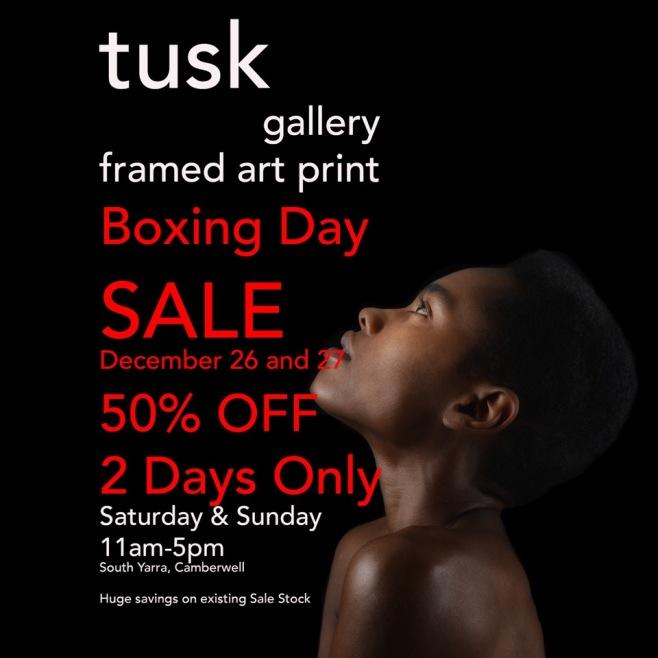 Tusk Sale Ad